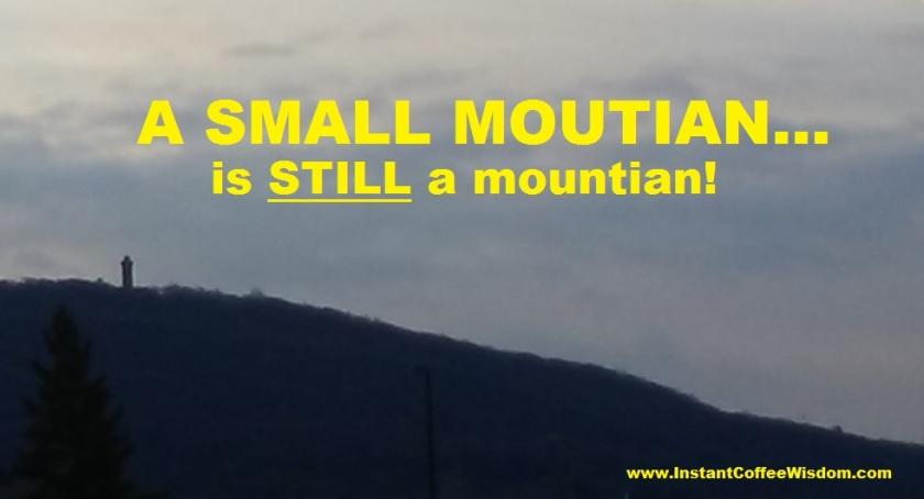a small mountain