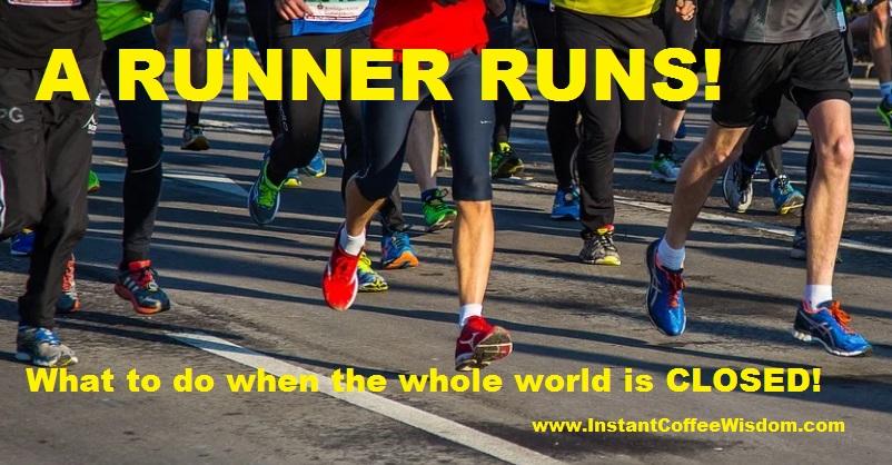 A RUNNER RUNS
